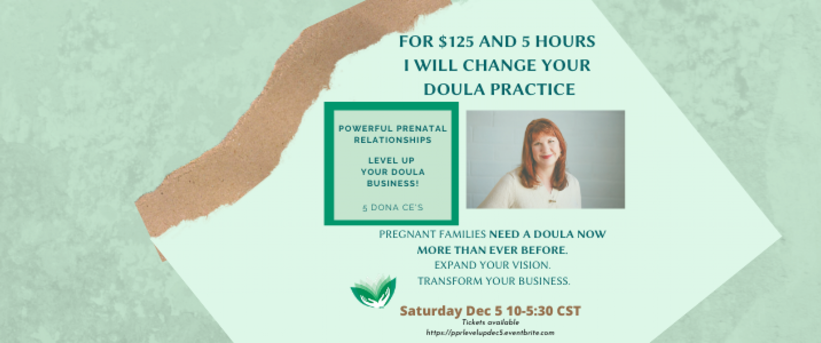 For $125 and 5 Hours I Will Change Your Doula Practice - png